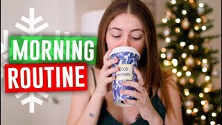 WINTER MORNING ROUTINE 2017! Holiday Edition! // Jill Cimorelli