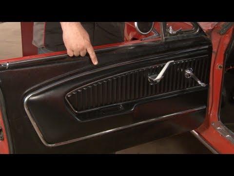 Mustang Tmi Pony Door Panel Installation 1965 1966 Youtube