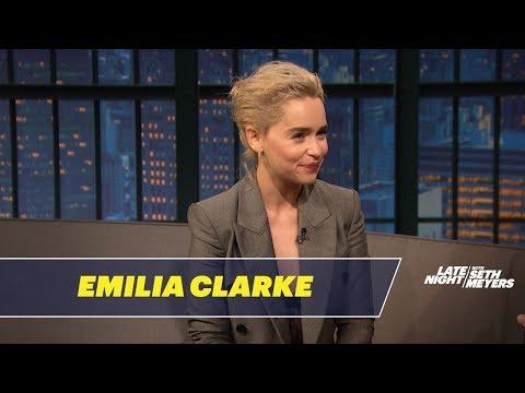 Emilia Clarke Had an Awkward Meeting with Prince William