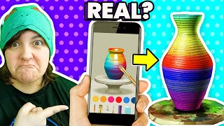 Testing 8 VIRAL Arts & Crafts Apps from TikTok & Instagram For the First Time