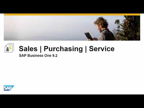 SAP Business One 9 2 Highlights