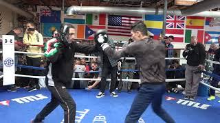 Hugo Ruiz Showing His Power Says Will KO Gervonta Davis  EsNews Boxing