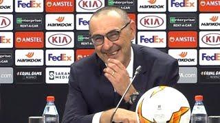 Chelsea 4-1 Arsenal - Maurizio Sarri Full Post Match Press Conference - Europa League Final