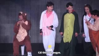 VIETSUB   160320 - Sở thú EXO got talent =)))