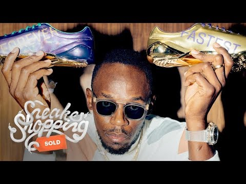 Usain Bolt Goes Sneaker Shopping With Complex