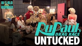 "Untucked: RuPaul's Drag Race Season 8 - Episode 1 ""Keeping It 100!"""