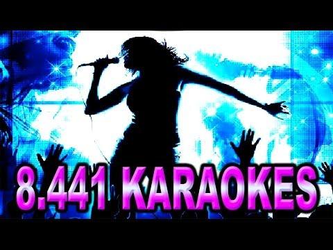 Baixar Karaokes e Playbacks Internacionais - 8.441 Musicas Cdg + MP3