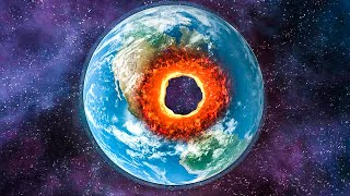 when you drill a hole through the center of earth