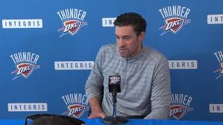 Thunder exit interview - Nick Collison