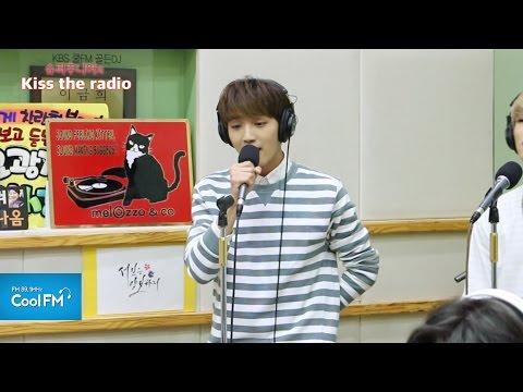 업텐션 환희 & 선율 '봄을 그리다' 라이브 LIVE / 160512[슈퍼주니어의 키스 더 라디오]