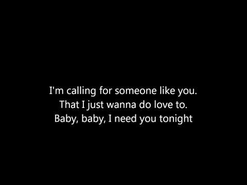 ZZ Top, I need you tonight. Lyrics