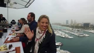 Kerber Is Sky High In Dubai