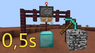 Chế Tạo Máy Đập Nát Bedrock Trong 0,5 Giây !!! - Minecraft PE