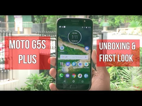 Moto G5S Plus Unboxing  First Look  Digitin
