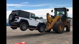 Rebuilding A Wrecked Car JEEP RUBICON (Part 1)