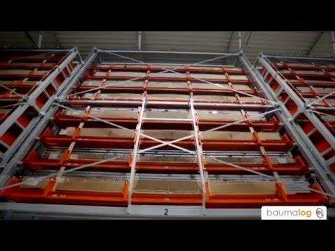 Automated zone-picking system for aluminium profiles - TwinTower