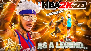 WE WENT BACK TO NBA 2K20 for 1 DAY but as LEGENDS..