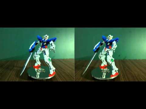 我的GUNDAM模型(左右3D格式)