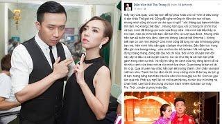 Đây là phản ứng bất ngờ của Thu Trang khi thấy Trấn Thành bị cấm diễn trên đài...!!!