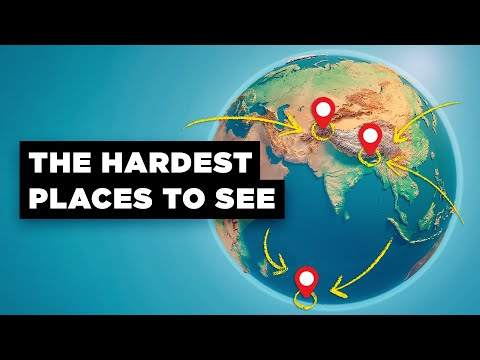 What's the Most Difficult Place to Get to In the World?