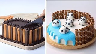 10+ Most Beautiful Homemade Cake Decorating Ideas For Party | My Favorite Colorful Cake Decorating