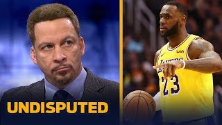 Chris Broussard: 'The injury doesn't excuse a lot of the things LeBron did wrong' | NBA | UNDISPUTED