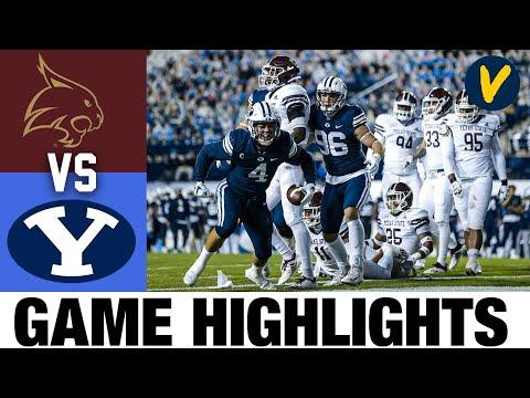 Texas State vs #12 BYU Highlights | Week 8 2020 College Football Highlights