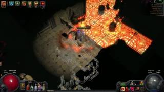 Path of Exile - The Warchief - Uber Lab Runner