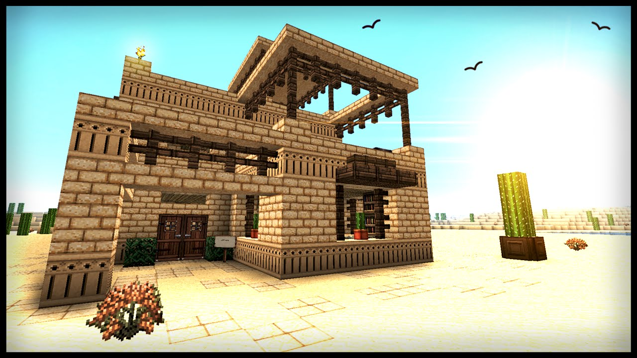 How To Build A Middle Eastern Desert House - Minecraft ...  How To Build A ...