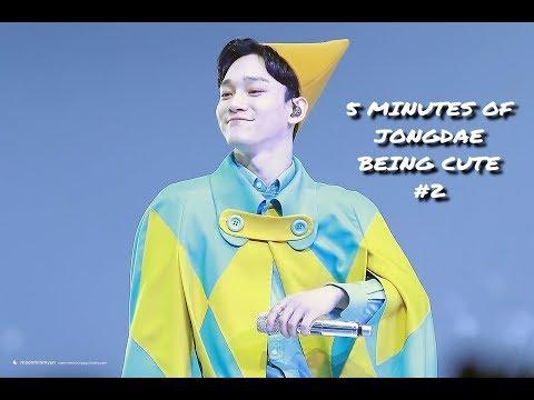 5 Minutes of Jongdae being cute #2