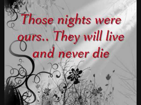 Skillet-Those Nights Lyrics
