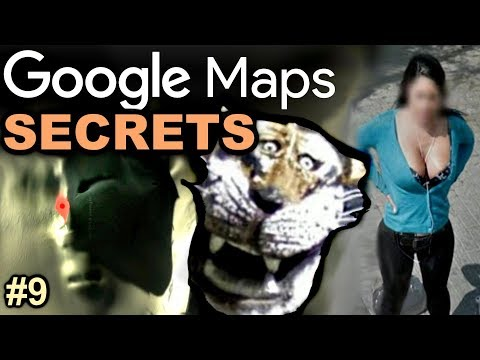 GOOGLE MAPS Secrets And Crazy Discoveries