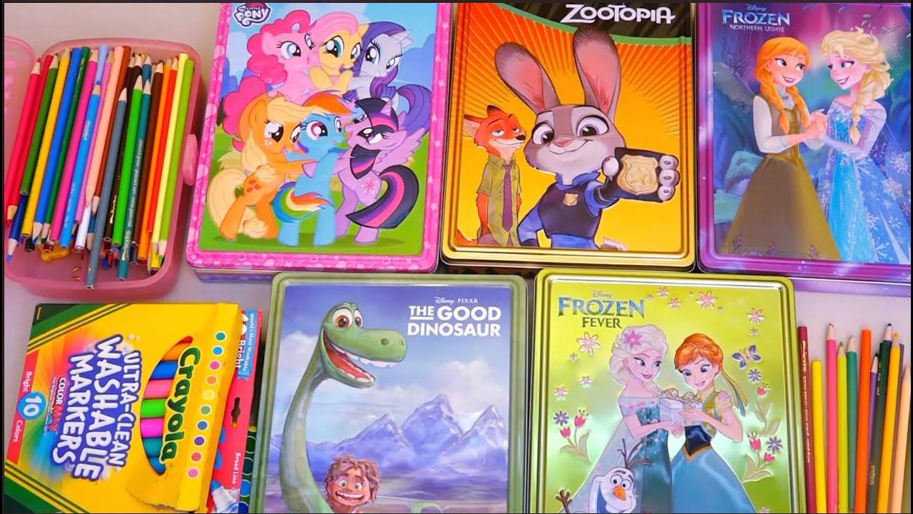 Dibujos ElsaJuguetes De Y Colorear ZootopiaMlpFrozen Niñas Para Anna Con Andre Niños shdCtQr