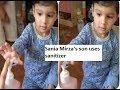 Watch: Sania Mirza teaches son Izhaan how to use sanitizer as coronavirus fears to grow