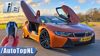2020 BMW i8 Coupe REVIEW POV on AUTOBAHN (NO SPEED LIMIT) by AutoTopNL