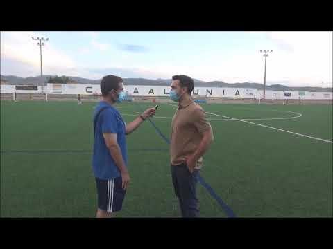 DIEGO CABEZA (Entrenador La Almunia) La Almunia 2-3 Giner Torrero / J17 / Preferente Gr3