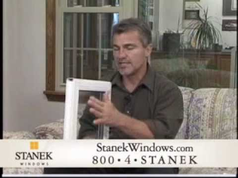 Stanek Windows with Heat Mirror Technology