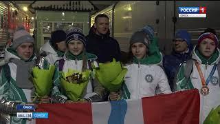 Омичи-участники международных зимних игр «Дети Азии» вернулись домой