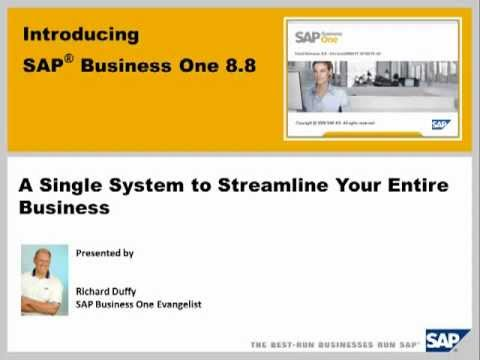 An Introduction to Simmex SAP Business One 8.8