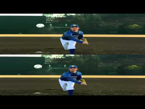 Panasonic 3D Demo - Sports