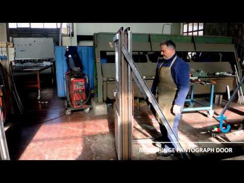 Monohinge Pantograph Door