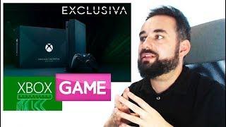 XBOX ONE X Edición Project Scorpio y MINECRAFT LIMITED EDITION presentadas en Gamescom