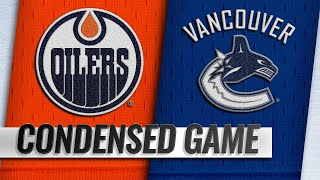 09/18/18 Condensed Game: Oilers @ Canucks