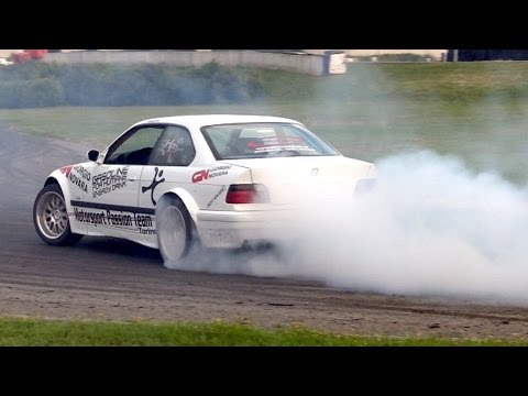 2° Saturday Night Drift Party 2014 - Single & Tandem Dirft - 19Bozzy92  - aqERg29sRsw -