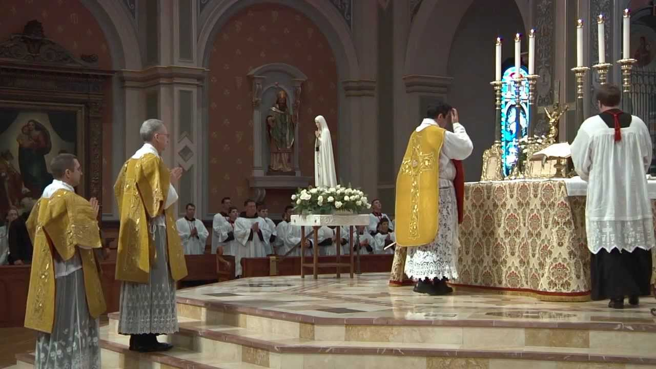 Solemn High Traditional Latin Mass Cathedral of the