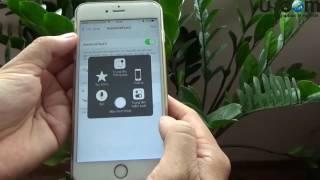 Mẹo bật phím Home ảo trên iPhone