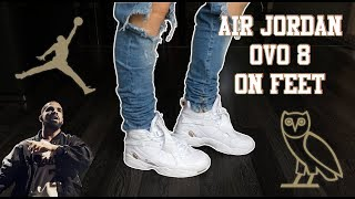 Air Jordan 8 Retro OVO | Unboxing, Close Up Look & On Feet Review