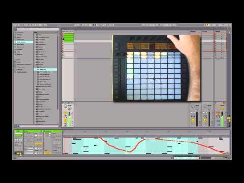 Ableton PUSH Demo #3 : Composer un morceau avec PUSH & Live 9