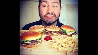 MUKBANG!!! McDonald's Signature Crafted Burgers!