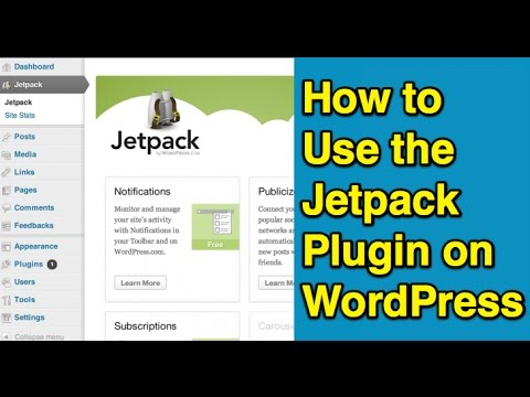 How to Use the Jetpack Plugin on WordPress